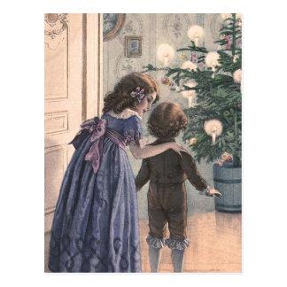 """""""El árbol de navidad """" Postal"""