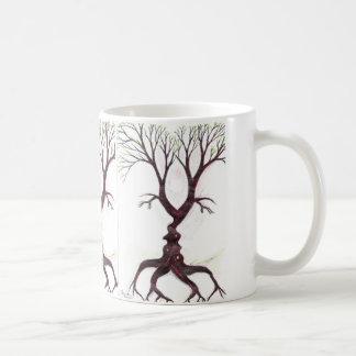 El árbol del beso taza de café