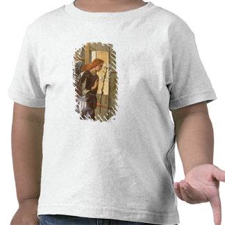 El arcángel Gabriel, del anuncio dipty Camisetas