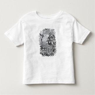El arcángel Uriel informa a Gabriel Camiseta De Bebé