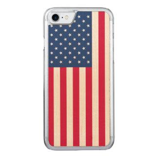 el arce de la bandera americana del iPhone 7 de Funda Para iPhone 7