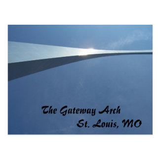El arco de la entrada en St. Louis, MES Postal