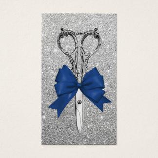 El arco de los azules marinos del estilista tarjeta de negocios