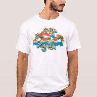 El arco iris de la Mujer Maravilla se nubla el Camiseta