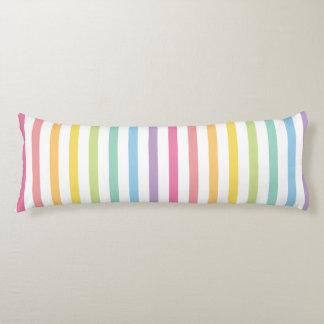 El arco iris del color en colores pastel raya el