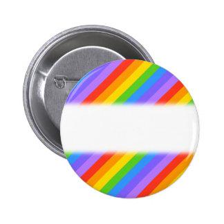 El arco iris diagonal raya el modelo pins
