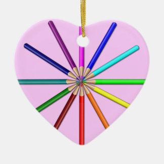 el arco iris dibujó a lápiz extremidades adentro ornamentos para reyes magos