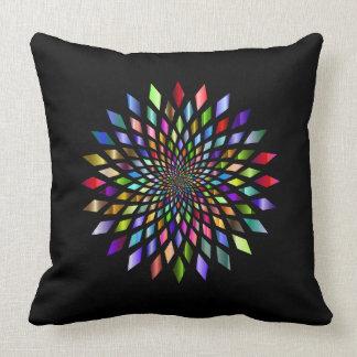 El arco iris estalló la almohada del diseño