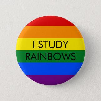 El arco iris estudia el botón