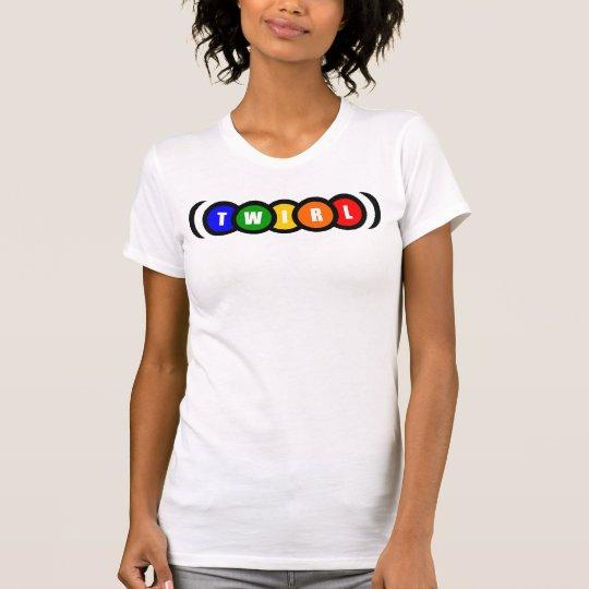 El arco iris liga las camisetas sin mangas del