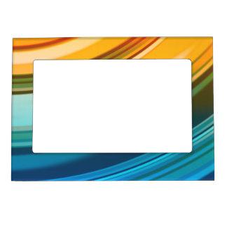 """El arco iris ondula 5"""""""" marco del imán x7"""
