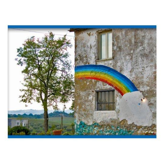 El arco iris postal