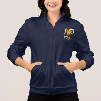 El aries las señoras de la astrología del zodiaco  chaqueta imprimida