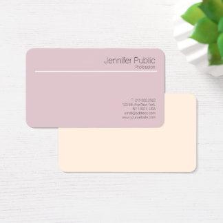 El armónico elegante profesional colorea al tarjeta de visita