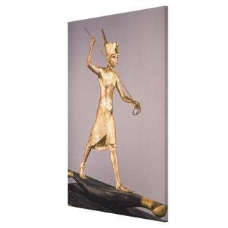 El arponero, de la tumba de Tutankhamun Impresión En Lienzo