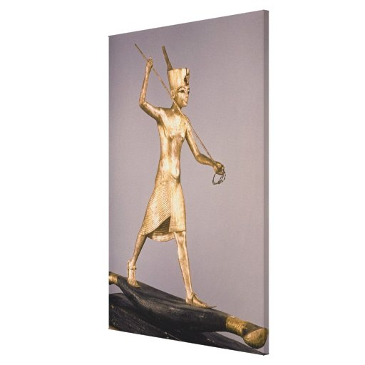 El arponero, de la tumba de Tutankhamun Impresión De Lienzo