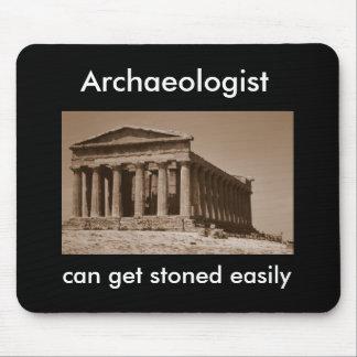 El arqueólogo puede conseguir empedrado fácilmente alfombrilla de ratón