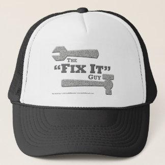 """El """"arreglo él"""" gorra del individuo"""