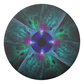 El arte abstracto del ojo goma de borrar