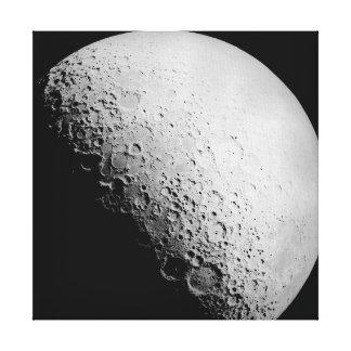 El arte de la lona de la luna el |