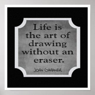El arte de la vida --- Impresión del arte