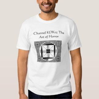 El arte del horror camisetas