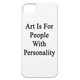 El arte está para la gente con personalidad iPhone 5 Case-Mate carcasas