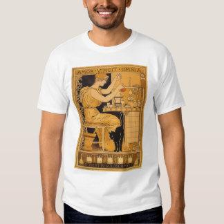 El arte Nouveau, amor del vintage conquista a todo Camisetas