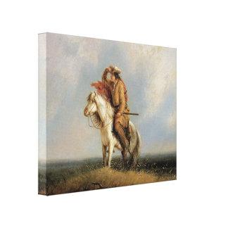 El arte perdido 1845 del vaquero del Greenhorn 3D