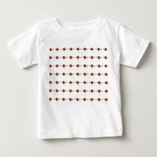 El arte tradicional del canal florece la camiseta