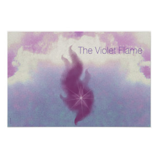 El arte violeta del altar de la llama