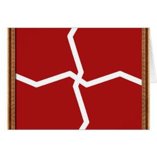 El artista creó el gráfico decorativo del tono del tarjeta de felicitación