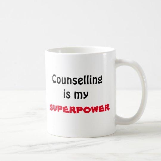 El asesoramiento es mi taza de la superpotencia