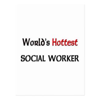 El asistente social más caliente de los mundos tarjeta postal