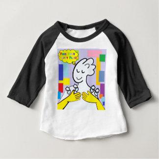 El ASL encuentra su lugar feliz Camiseta De Bebé