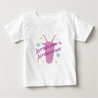 El asombrar de la astrología camiseta de bebé