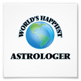 El astrólogo más feliz del mundo impresión fotográfica
