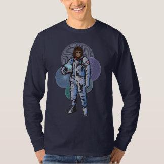 El astronauta del mono camiseta