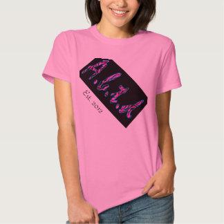 """El """"Aunblunted"""" Est. Camisa 2012 para las mujeres"""