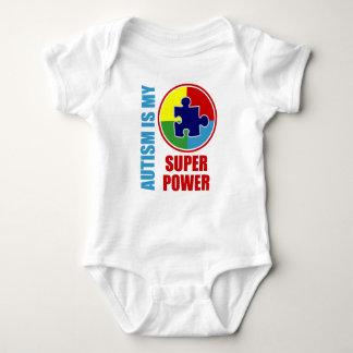 el autismo es mi superpoder body para bebé