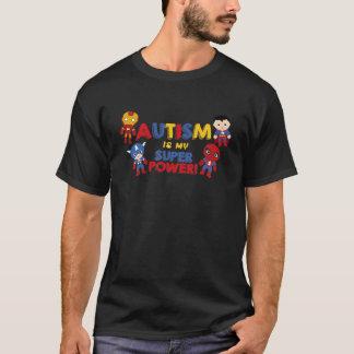 El autismo es mi superpoder camiseta