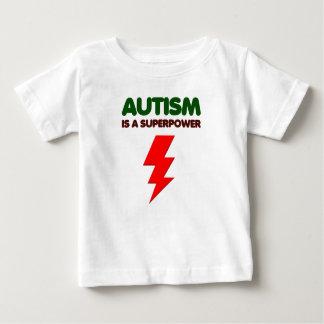 El autismo es superpoder, niños, niños, importa de camiseta de bebé
