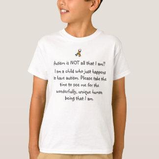el autismo no es todo lo que soy camiseta