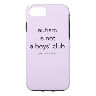 El autismo no es un club de los muchachos: caso funda iPhone 7