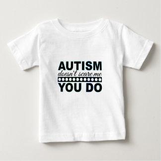 El autismo no me asusta camiseta