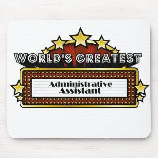 El ayudante administrativo más grande del mundo tapetes de ratones