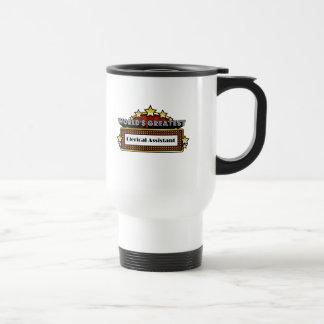 El ayudante administrativo más grande del mundo tazas de café