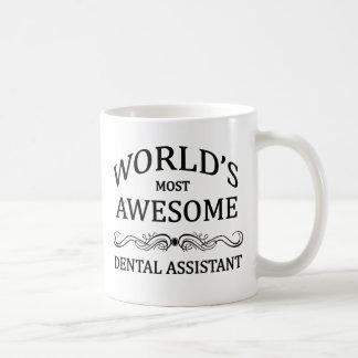 El ayudante de dentista más impresionante del taza de café