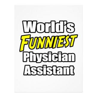 El ayudante más divertido del médico del mundo tarjeta publicitaria