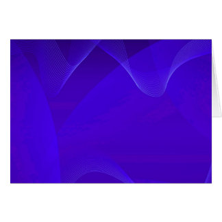 El azul agita I Tarjeta De Felicitación